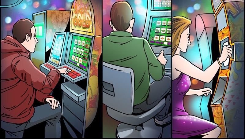 Онлайн казино и игровые аппараты